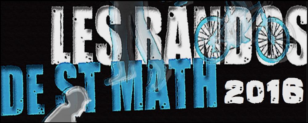 Edition 2016 des Randos de Saint Math' le dimanche 12 juin 2016