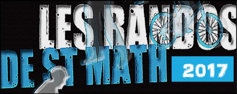 Edition 2017 des Randos de Saint Math' le dimanche 11 juin 2017